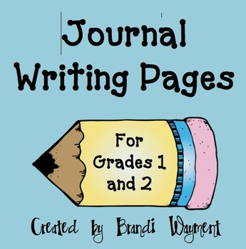 Journal Writing Pages
