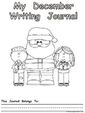 Journal Writing Pages/Booklet for the Month of December