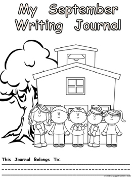 Journal Writing Pages/Booklet for the Month of September