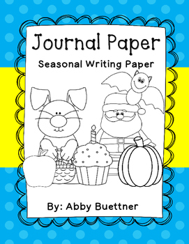 Journal Writing Paper