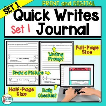Writing Prompts Journal For Daily Writing - Prompts