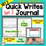 Writing Prompts Journal For Daily Writing - Pack 2