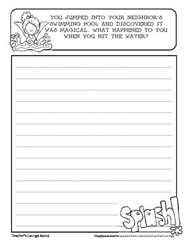 Journal Writing Prompts - A Resource for Educators - SAMPLE FREEBIE