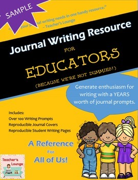 Journal Writing Prompts - A Resource for Educators - SAMPL