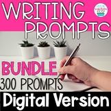 Journal Writing Prompts BUNDLE Digital Distance Learning