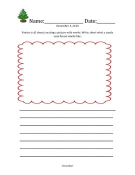Journal Writing Prompts - December 2014