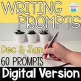 Journal Writing Prompts December & January Digital Distanc