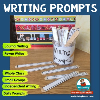 Journal Writing Prompts | Writing Resources | Independent Writing