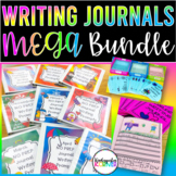 Journal Writing Prompts THE BUNDLE for the ENTIRE YEAR - K 1st Journals