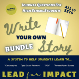 Journal Writing Prompts for High School Bundle
