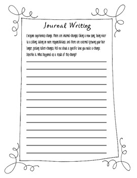 Journal Writing Prompts for Intermediate Grades Vol. 2