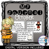 Journal Writing Prompts for October