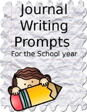 Journal Writing Prompts for the Year