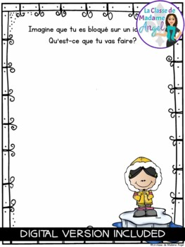 Journal Writing Prompts in French - January