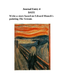 Journal Writing - Seventh Grade Set 2