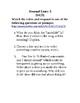 Journal Writing - Seventh Grade Set 7