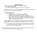 Journal Writing - Seventh Grade Set 9