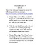 Journal Writing - Sixth Grade Set 3
