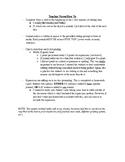 Journal Writing - Sixth Grade Set 9