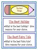 Journal Prompts, Rubric and Templates
