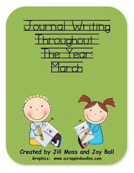 Journal Writing Throughout the Year:  March