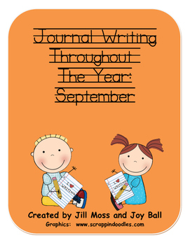 Journal Writing Throughout the Year: September