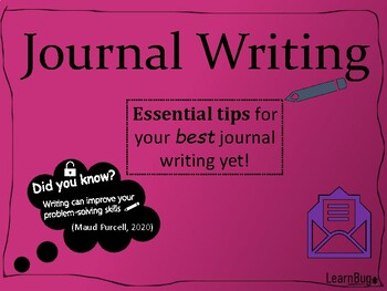Journal Writing Tips extended