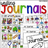 Journal Writing Tools for Preschool, Pre-K, and Kindergarten