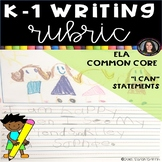 K-1 Journal Writing Rubric