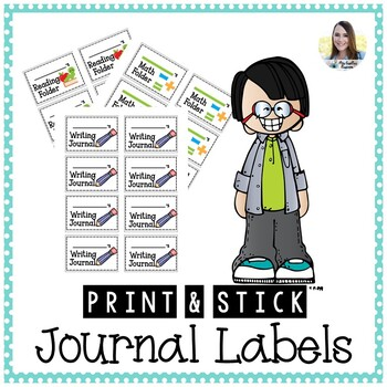 Journal and Folder (Avery) Labels