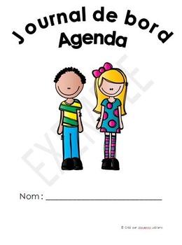 Journal de bord - Agenda - Devoirs