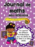 Journal de réflexion mathématiques - Math Reflection Journal