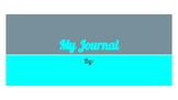 Journal for Google Slides and Google Classroom