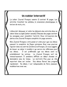 Journal français 3 novembre