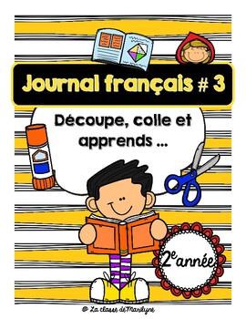 Journal français Novembre 2e année