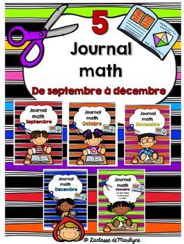 Journal math combinaison De septembre à décembre