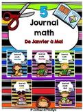 Bundle:Journal math de janvier à mai