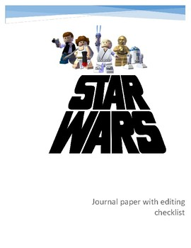 Journal paper with editing checklist