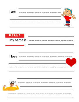 Journal prompts for kindergarten