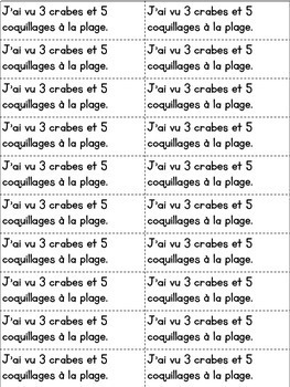 Journal quotidien de maths - JUIN (French Math Journal Prompts) - MATERNELLE