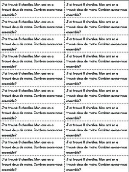 Journal quotidien de maths - MAI (French Math Journal Prompts) - 1E ANNÉE