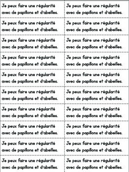 Daily French Math Journal Prompts - May (Journal de maths) MATERNELLE