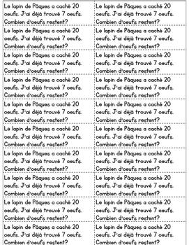 Journal quotidien de maths - MARS (French Math Journal Prompts) - 1E ANNÉE