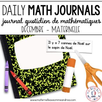 Journal quotidien de maths - décembre (French Math Journal
