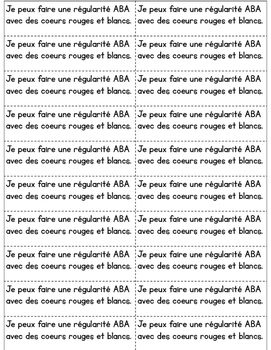 Journal quotidien de maths - février (French Math Journal Prompts) - 1E ANNÉE