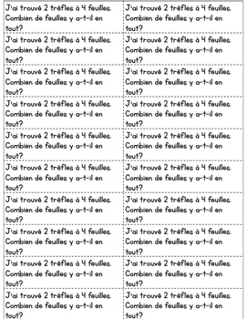 Journal quotidien de maths - mars (French Math Journal Prompts) - MATERNELLE