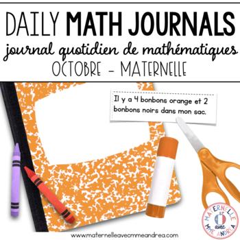 Journal quotidien de maths - octobre (French Math Journal
