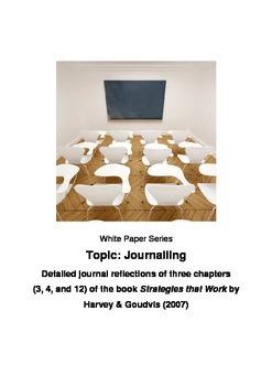 Mathematics - Journal reflections - _Strategies that Work_ Harvey & Goudvis