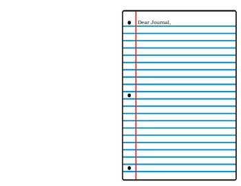 Journal template