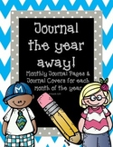 Journal the Year Away!- Monthly Journal Paper